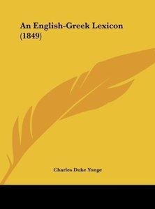 An English-Greek Lexicon (1849)