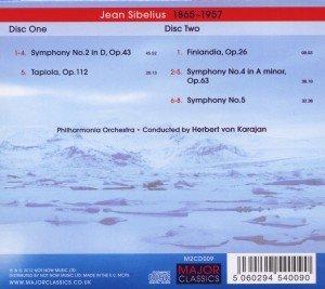 Sinfonien 2,4,& 5/Tapiola,Finlandia