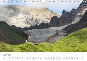 The Alaska Calendar UK-Version (Wall Calendar 2015 DIN A4 Landsc
