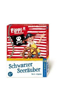 Pippi Langstrumpf Kartenspiel schwarzer Seeräuber