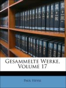 Gesammelte Werke, Volume 17