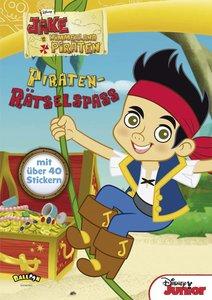 Jake und die Nimmerland Piraten - Piraten-Rätselspaß