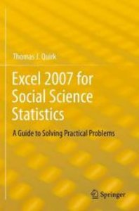 Excel 2007 for Social Science Statistics