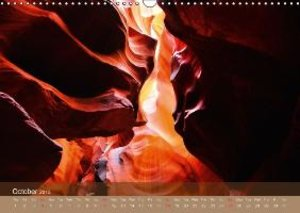 The Antelope Canyon UK-Version (Wall Calendar 2015 DIN A3 Landsc