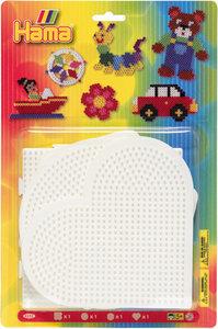 Hama 4552 - Stiftplatten, groß, 4 Stück