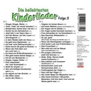 Die Beliebtesten Kinderlieder 3