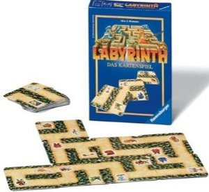 Ravensburger 23206 - Labyrinth, Das Kartenspiel