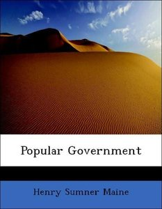 Popular Government