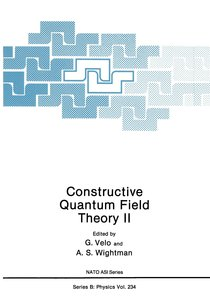 Constructive Quantum Field Theory II