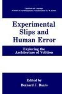 Experimental Slips and Human Error