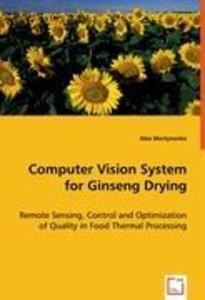 Computer Vision System for Ginseng Drying