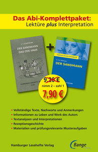 Der Sandmann - Lektüre plus Interpretation: Königs Erläuterung