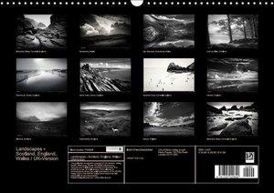 Landscapes - Scotland, England, Wales / UK-Version (Wall Calenda