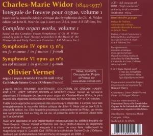 Sämtliche Orgelwerke Vol.1: Sinfonien 4 U.6