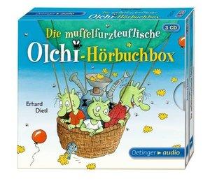 Die muffelfurzteuflische Olchi-Hörbuchbox (3 CD)
