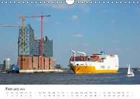 Hamburg / UK-Version (Wall Calendar 2015 DIN A4 Landscape) - zum Schließen ins Bild klicken