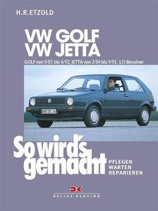 So wird's gemacht. VW GOLF / VW JETTA