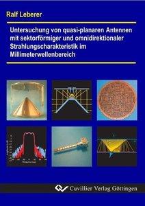 Untersuchung von quasi-planaren Antennen mit sektorförmiger und