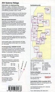 Fjällkartan 1 : 50 000 Z54 Sylarna - Helags Wanderkarte