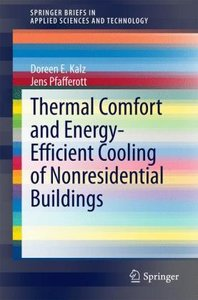 Thermal Comfort and Energy-Efficient Cooling of Nonresidential B