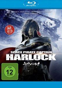 Space Pirate Captain Harlock BD 3D/2D