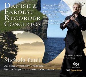 Dänische und Faröische Blockflötenkonzerte