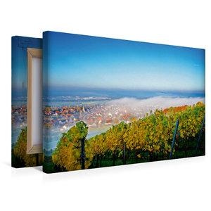 Premium Textil-Leinwand 45 cm x 30 cm quer Herbstlicher Reuschbe