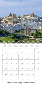 Apulia (Wall Calendar 2015 300 × 300 mm Square)