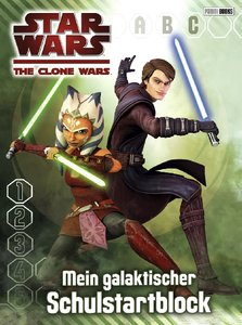 Star Wars The Clone Wars Schulstartblock