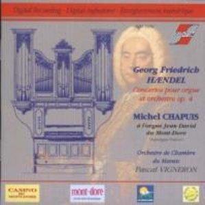 Concertos pour orgue et orchestre op.4