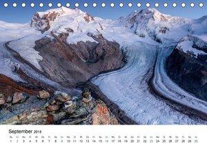 Schweizer Berge 2018 (Tischkalender 2018 DIN A5 quer)