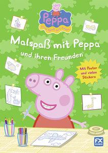 Peppa - Malspaß mit Peppa und ihren Freunden