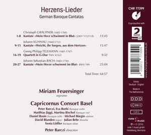 Herzens-Lieder-Deutsche Barock-Kantaten