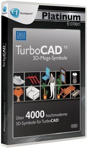 Avanquest Platin Edition, Turbo CAD 3D-Mega-Symbole, Einrichtung