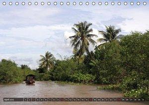VIETNAM - Land der Flüsse (Tischkalender 2016 DIN A5 quer)
