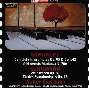 Walter Gieseking spielt Schubert und Schumann