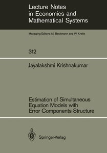 Estimation of Simultaneous Equation Models with Error Components