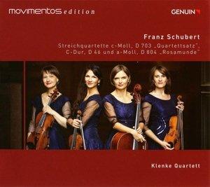 Streichquartette D 703, D 46, D 804 (Movimentos Edition)
