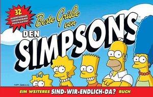 Simpsons Postkartenbuch Bd.1