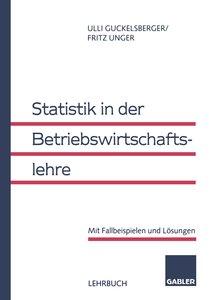 Statistik in der Betriebswirtschaftslehre