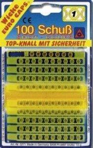 Sohni-Wicke - Plastik Streifen-Amorces, 100 Schuss