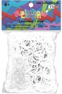 Rainbow Loom 22123 - Original Gummibänder Nachtleuchtend, 600 St