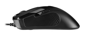 Sharkoon FireGlider - Gaming Mouse (Lasermaus) - Black