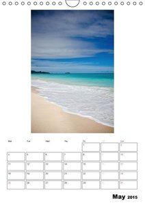 Relaxation - Organizer / UK-Version (Wall Calendar 2015 DIN A4 P