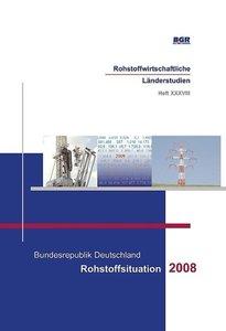 Bundesrepublik Deutschland - Rohstoffsituation 2008