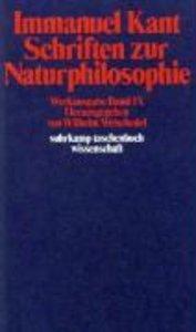 Schriften zur Naturphilosophie