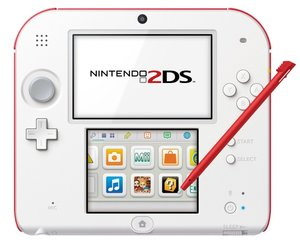Nintendo 2DS Konsole - White inkl. Tomodachi Life