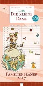 Die kleine Dame. Familienplaner 2017