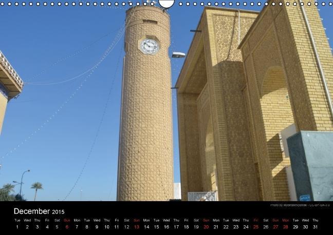 Iraq Monuments 2015 (Wall Calendar 2015 DIN A3 Landscape) - zum Schließen ins Bild klicken