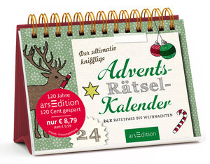 Der ultimativ knifflige Advents-Rätsel-Kalender (Jubiläumstitel)